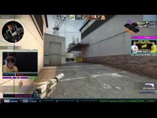 ceh9(Арсений Триноженко) оформил квадро 4 головы на de_cashe а так же рассказал о снайперах в CS GO