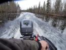 Тест мото каноэ SATURN KaBoat SK430 с мотором 15 л с 2