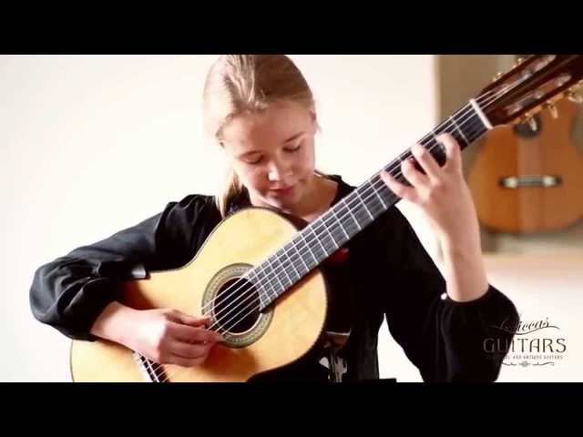 Leonora Spangenberger 11 plays Fuge BWV 998 by J S Bach on a 2004 Curt Claus Voigt