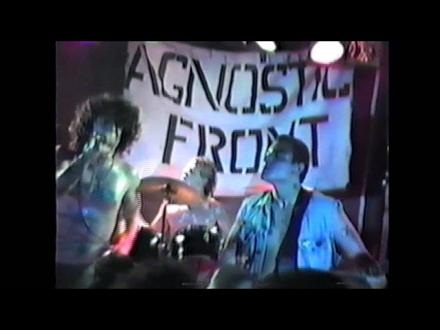 Agnostic Front Live at the Swizzles York PA 1986