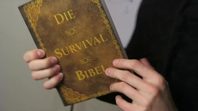 Die Survival Bibel Dein Leitfaden zum autarken Überleben in der Wildnis Link zum Buch in der Beschreibung