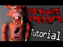 FOXY Five Nights At Freddy's Polymer Clay Tutorial Porcelana Fría Plastilina
