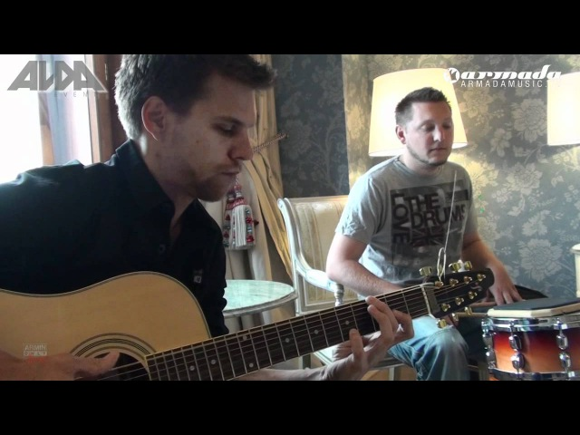 Acoustic hotel room session VII Mirage Eller van Buuren feat Bagga Bownz