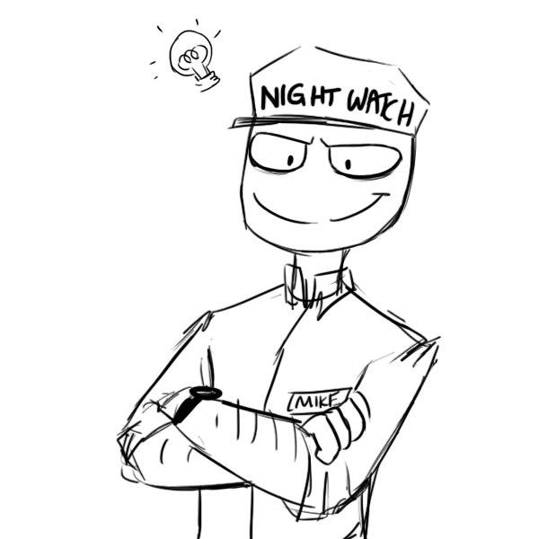 охранник из пять ночей с фредди картинки номерам техника