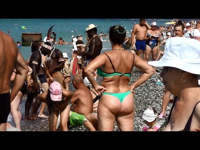 фото с неграми на лазаревском пляже днем рождения подружка