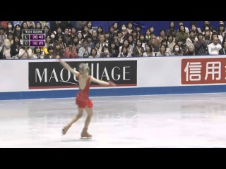 Елена Радионова, 2015 World Team Trophy, SP
