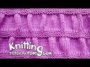 Ruching - Garter Stitch Stripe