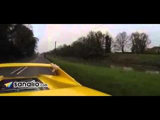 На вейкборде за Ferrari F50