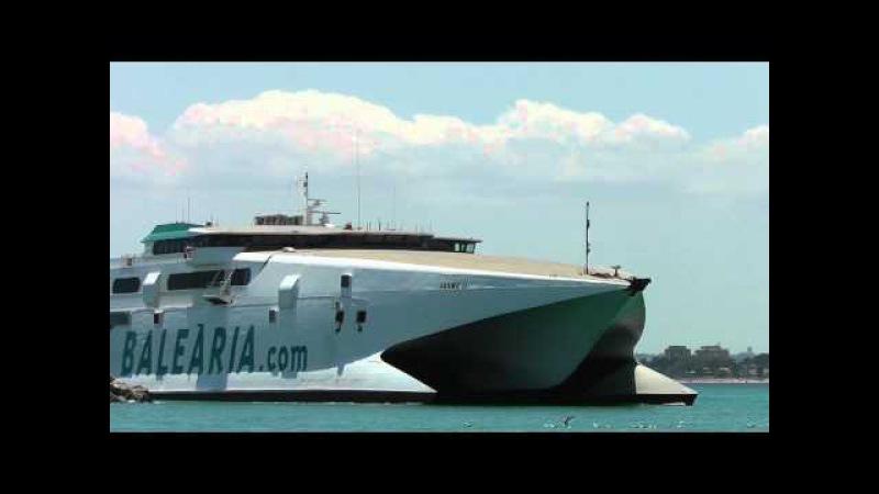 Mallorca Port d'Alcúdia Fast ferry Jaume II
