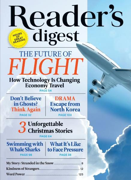 Readers Digest International December 2016