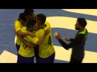 #CopaAmericafutsal Brasil vs Chile #GrupoaA