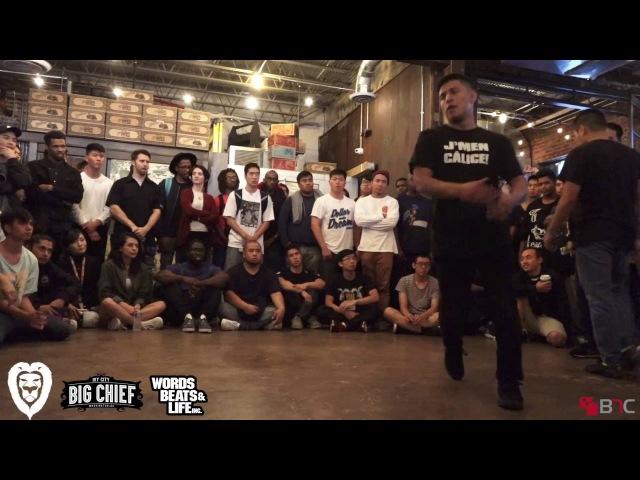 Dosu Vs Tony T Bags Finals LIONZ OF ZION 20TH ANNIVERSARY BNC