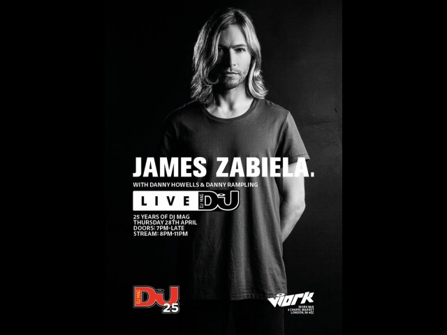 25 Years of DJ Mag Party with James Zabiela, Danny Howells Danny Rampling