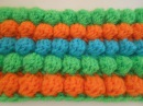 Как связать узор шишечки или попкорн крючком how to crochet popcorn