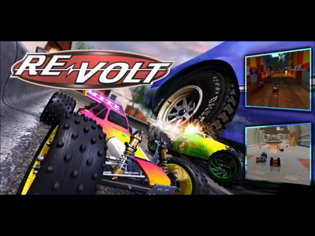 REVOLT - Main menu (soundtrack, music, theme, HD)