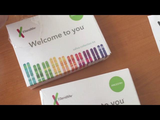 Решили исследовать свою ДНК в 23andme