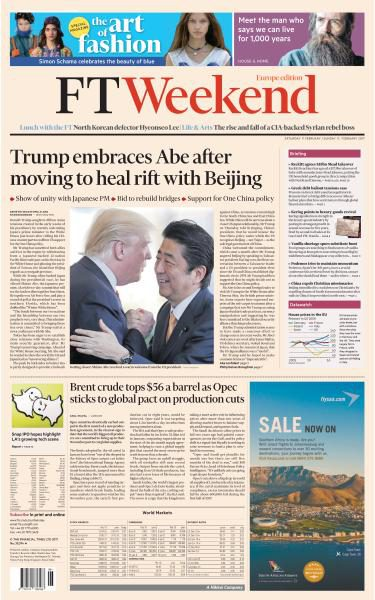 Financial Times Europe 11 February 2017 FreeMags