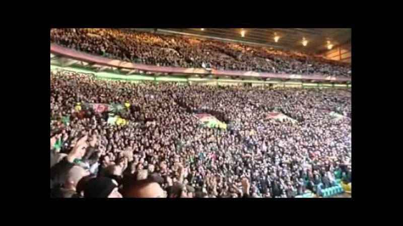 Celtic Fans Just Can't Get Enough Depeche Mode Great atmosphere at Celtic Park