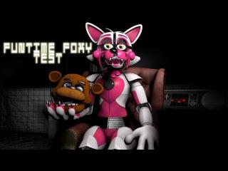 [SFM-FNAF] Funtime Foxy test plus Five Nights At Freddy's 3 good ending animation
