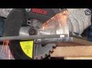 Тест-драйв пилы BOSCH GKM 18 V-LI