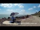 Отдых в Геническе Берег моря у маяка