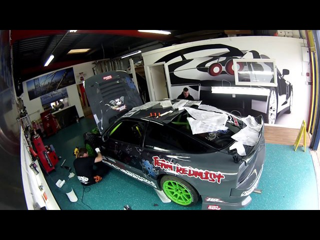 Team Redmist Nissan S13 Wrap by We Wrap Any Car MK