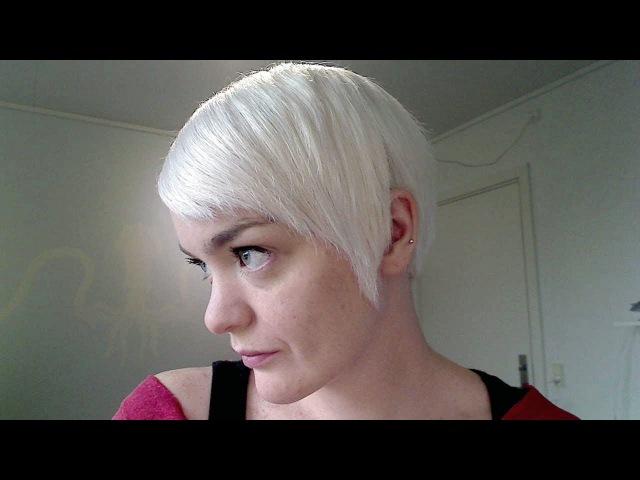 Hair on a Budget Making White Toner Using Manic Panic's Ultra Violet