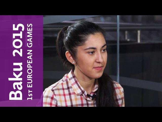 Oyunlara daha yaxın 5-ci addım. Suqra Müqabilzadə | Baku 2015