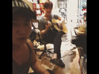 Sola Fide 50 % on Instagram: #FNC @ftgtjhc  His playing guitar so so great:)   sweat  Martin d45