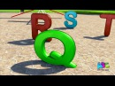 Alphabet Bus Song For Children | 3D Animated Nursery Rhymes