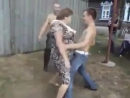 Russian bare chested Ghetto Dance THERES NO LIMIT