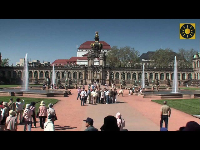 DRESDEN die zauberhafte Barockhauptstadt Deutschlands Teil 1 Semperoper Dresdner Zwinger