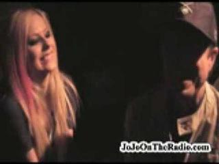 Avril Lavigne - Whisky Go Go Backstage Interview ()