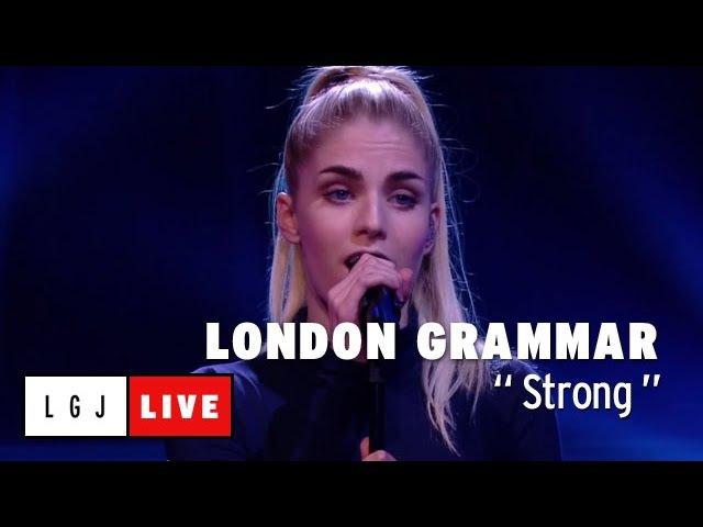 London Grammar - Strong - Live du Grand Journal