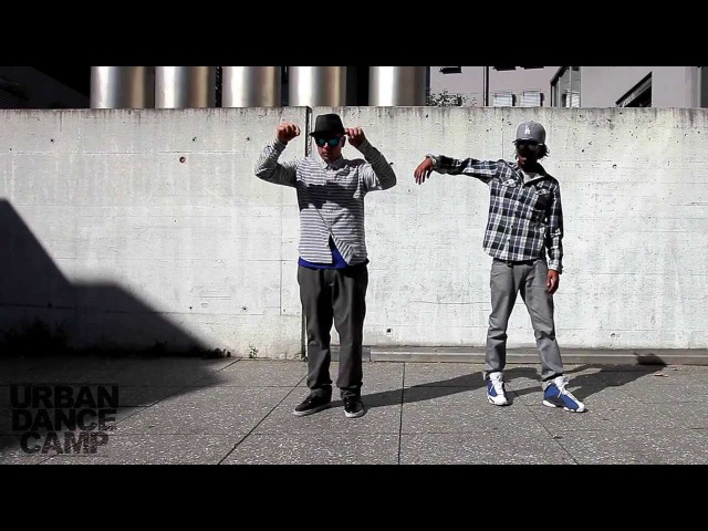 Time Control Popping John Nonstop Marquese Scott 310XT Films URBAN DANCE CAMP