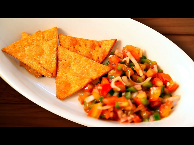 Nacho Chips Homemade Nachos Recipe By Joel Tortilla Chips New Year Party Appetizer