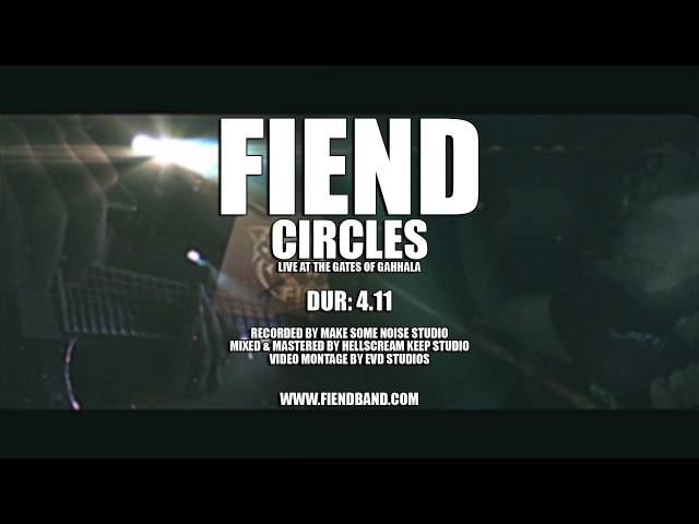 FIEND Circles Live At The Gates Of Gahhala 2016 OFFICIAL LIVE VIDEO