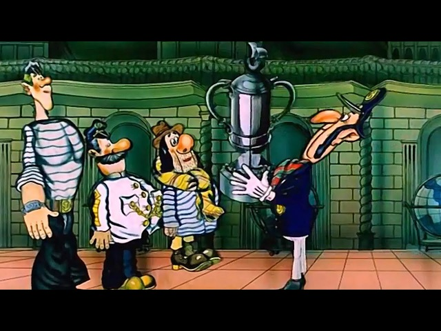 Приключения капитана Врунгеля Серия 13 советские мультфильмы
