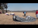 Extreme Kitesurfing Accident at the Vaal Dam