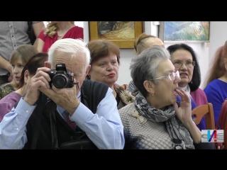 """Открытие выставки Сергея Опульса """"Половина рукописи"""" в Тосно"""