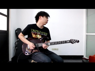 Dream theater - the best of times solo cover by nut (guitar cover)