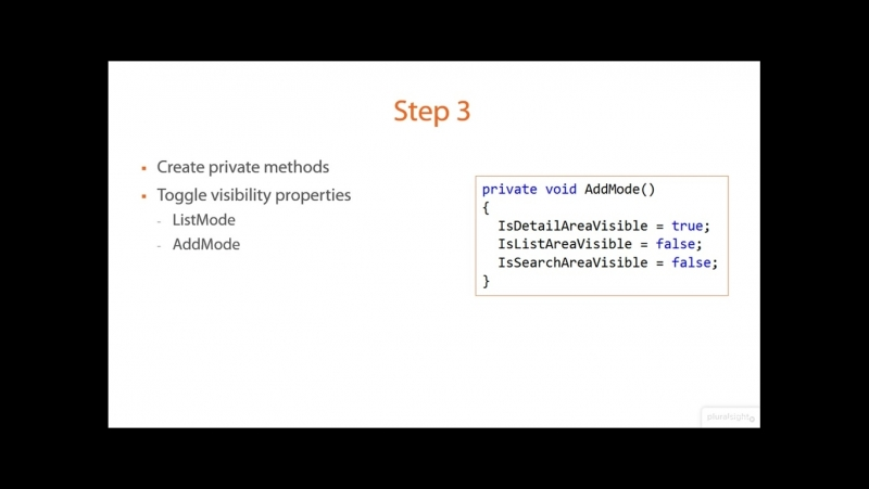 03_06-Step 3 Create Private Methods for Reusability
