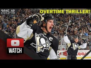 St. Louis Blues Vs Pittsburgh Penguins. November 25, 2015. (HD) OT Thriller!