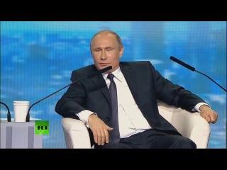 В.В. Путин об ограничении голливудской кинопродукции и качестве наших телесериалов ()