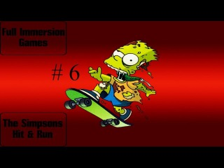 The Simpsons Hit & Run - Bart day two