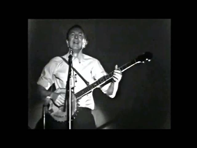 PETE SEEGER ⑩ Little Boxes Live in Sweden 1968