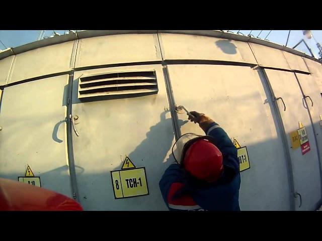Авария на суровой Челябинской Подстанции 110 35 10