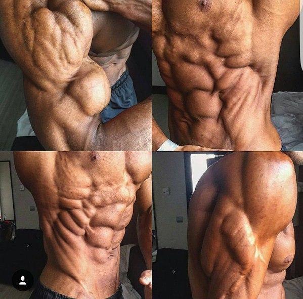 Мышцы накачаны как сжечь жир