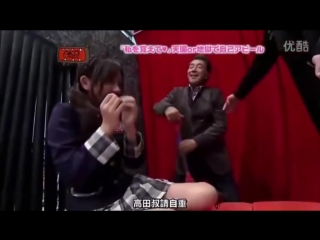 Collection of tickling members of Japanese girl Group - AKB48.