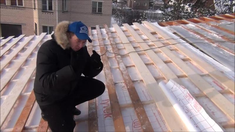 Конденсат на крыше. Ошибки строительства. Утепление крыши от Кровмонтаж. (Часть№3)